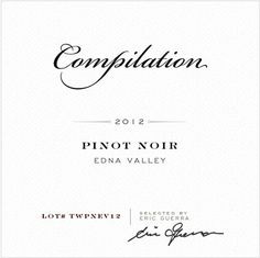 2012 Compilation Edna Valley Pinot Noir ** Read more reviews of the product by visiting the link on the image.