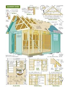 Shed Plans   Shed Plans Free 8×8 Gambrel Roof Storage Shed Plans By 8x10x12