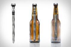 Who likes warm beer?! CHILLSNER Beer Chiller by Corkcicle - instant cold beer! See how you can get it @ jebiga.com