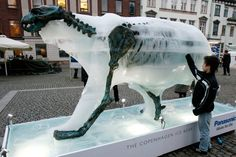 Ice Bear Project in Copenhagen | animal sculptor Mark Coreth