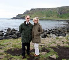 Noblesse & Royautés » Earl and Countess of Wessex on an official visit to Northern Ireland