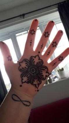 Henna Cones, Hand Henna, Hand Tattoos