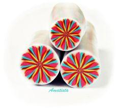 Murrina flor pétalos multicolor