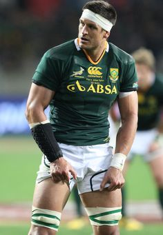 Pierre Spies during the third test match between South Africa and England at Nelson Mandela Bay Stadium on June 23, 2012 in Port Elizabeth, South Africa.