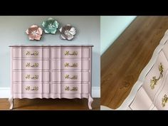 French Provincial Dresser Makeover with Chalk Paint Refurbished Furniture, Furniture Makeover, Furniture Decor, Dresser Makeovers, Painting Furniture, French Dresser, French Provincial Dresser, Shabby Chic Interiors, Shabby Chic Bedrooms
