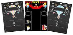 Decoración de Fiesta con Estilo Pizarra. - Ideas y material gratis para fiestas y celebraciones Oh My Fiesta! Oh My Fiesta, Blogger Templates, Diy Party, Ideas, Celebrations, Invitations, Fiestas, Chalkboards, Style