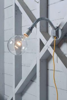Industrial Wall Light - Plug In