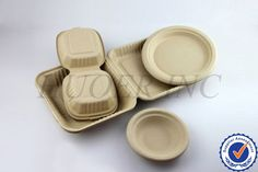 Disposable Molded Bamboo Sugar Cane Pulp Tray Photo, Detailed about Disposable Molded Bamboo Sugar Cane Pulp Tray Picture on Alibaba.com.
