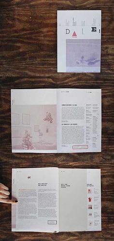 Editorial Design Inspiration   Dale Magazine by designer Sofia Copello