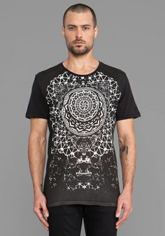 Ksubi Zen Men Tee in Black