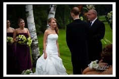 Emotional wedding ceremony Amber and Colby's Wedding ~ Twin Hills Country Club, East Longmeadow MA