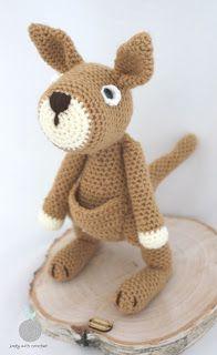 Lady with crochet: Kangurzyca Malwina / Crochet kangaroo