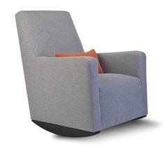 Berçante moderne rembourrée alto - mobilier pour enfants Monte Design