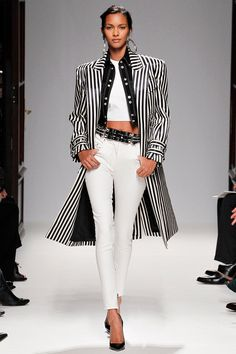 Balmain Spring 2013...love this trench