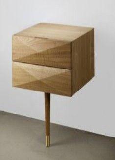 Senkki Furniture B40 Designer Bedside Tables Walnut Cabinets Bespoke Art Tailor Made And Sideboards The Front Yard Pinterest