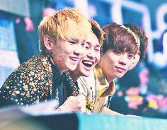 Key 키, Onew 온유, and Jonghyun 종현 from SHINee 샤이니
