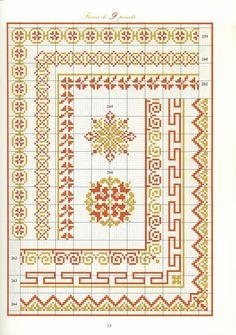 """ru / anapa-mama - Album """"patterns and ornaments"""" Cross Stitch Borders, Cross Stitch Samplers, Cross Stitch Charts, Cross Stitching, Cross Stitch Embroidery, Weaving Patterns, Cross Stitch Patterns, Knitting Charts, Mandala"""