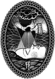 occult inspired tattoo art - Tom Gilmour is in the business of creating occult-inspired tattoo art. The London-based illustrator mixes together occult imagery, nomadic themes a...