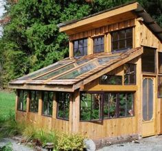 Very cool Non-traditional Greenhouse.