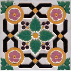 Glazed and Confused: Majolica Showcase: Minton Majolica Tiles