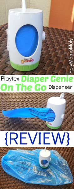 HolyMamaMoly | TryitThursday | REVIEW | Playtex Diaper Genie On The Go Dispenser - Perfect for Busy Mama's, on the GO!