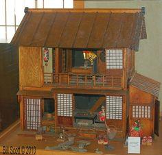 Antique Japanese Doll House (1932). -Japanese Friendship Garden, Balboa Park, San Diego, CA