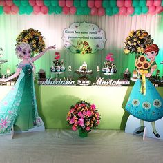 Disney Frozen Fever Birthday Party Ideas me encanta totalmente diferente!!!