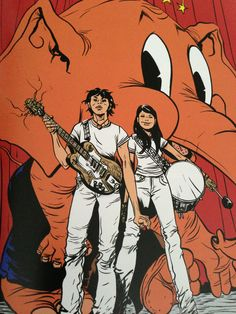 The White Stripes by Paul Pope