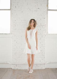 Nouvelle collection 2015 de robes civiles  - Rime Arodaky - Créatrice de robes de mariée | Modèle: Jamie | Crédits: Greg Finck | Donne-moi ta main - Blog mariage