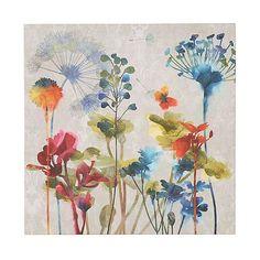Colorful Flowers I Canvas Art Print | Kirklands
