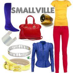 My creation inspired by Smallville character Kara Kent.