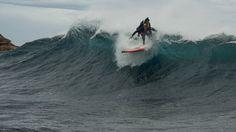 Duct Tape Surfer - paraplegic on 'board'