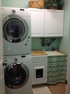 """Excellent """"laundry room stackable washer and dryer"""" info is available on our internet site. Take a look and you wont be sorry you did. Small Laundry Rooms, Laundry Room Organization, Laundry Room Design, Stackable Washer And Dryer, Stacked Washer Dryer, Small Storage, Storage Ideas, Small Shelves, Closet Storage"""