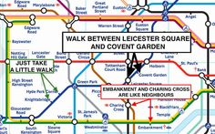 Know the distances between the tube stations. It really does make sense if you do.