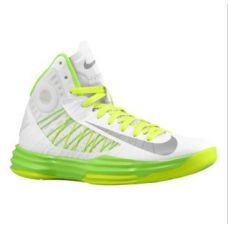 bf01c9723533 Nike Lunar Hyperdunk X 2012 Basketball Shoes Summit White Wolf Grey Electric  Green