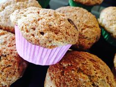 Opskrift på muffins med chokolade, banan og kanel