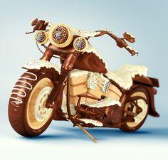Chocolate Motorcycle - Silvio Medeiros