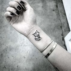 40 Lovely Origami Tattoo Designs (In Trend)