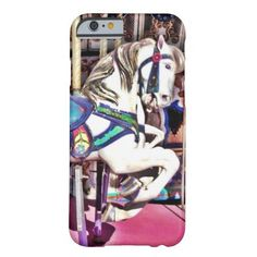 Colorful Carousel Horse at Carnival Photo Gifts Barely There iPhone 6 Case