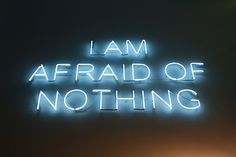 I Am Afraid Of Nothing, photography by Lizzie Staley, via Flickr