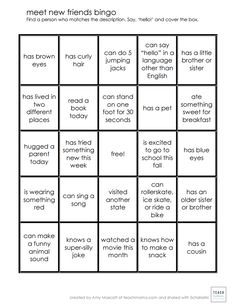 From camp to birthday parties, making friends just got a lot easier with this kid-friendly bingo board. #NationalBestFriendDay