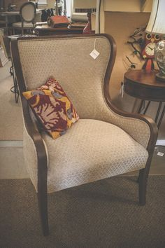 #Fairfield Wingback Chair #TraditionsErie #InStore