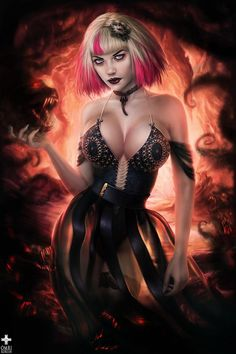 Erotic fantasy women vampire