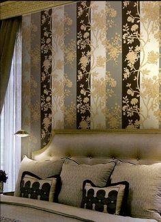 wallpaper interior design decoration roberto cavalli Roberto