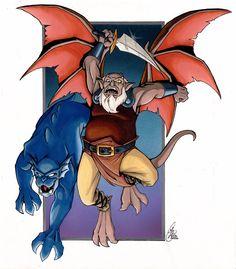 Old Warrior and Hound Coloured by Kanthara.deviantart.com on @DeviantArt