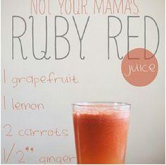 Grapefruit Juice w/ Carrots (http://juicers-best.com/blogs/benefits-of-juicing/6826930-the-benefits-of-grapefruit-juice)