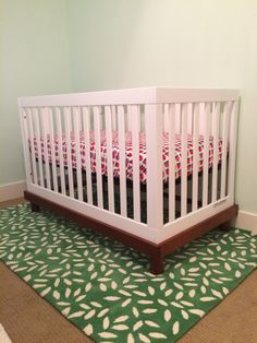 Bon Land Of Nod Farmers Market Fitted Crib Sheet And After The Rain Rug Fitted  Crib Sheets