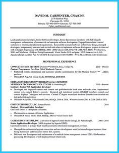 Sample Carpenter Resume Magnificent Nice Cool Information And Facts For Your Best Call Center Resume .