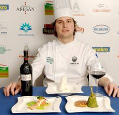 El chef mirandés Alberto Molinero