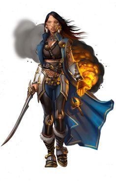 Female Warwick mage
